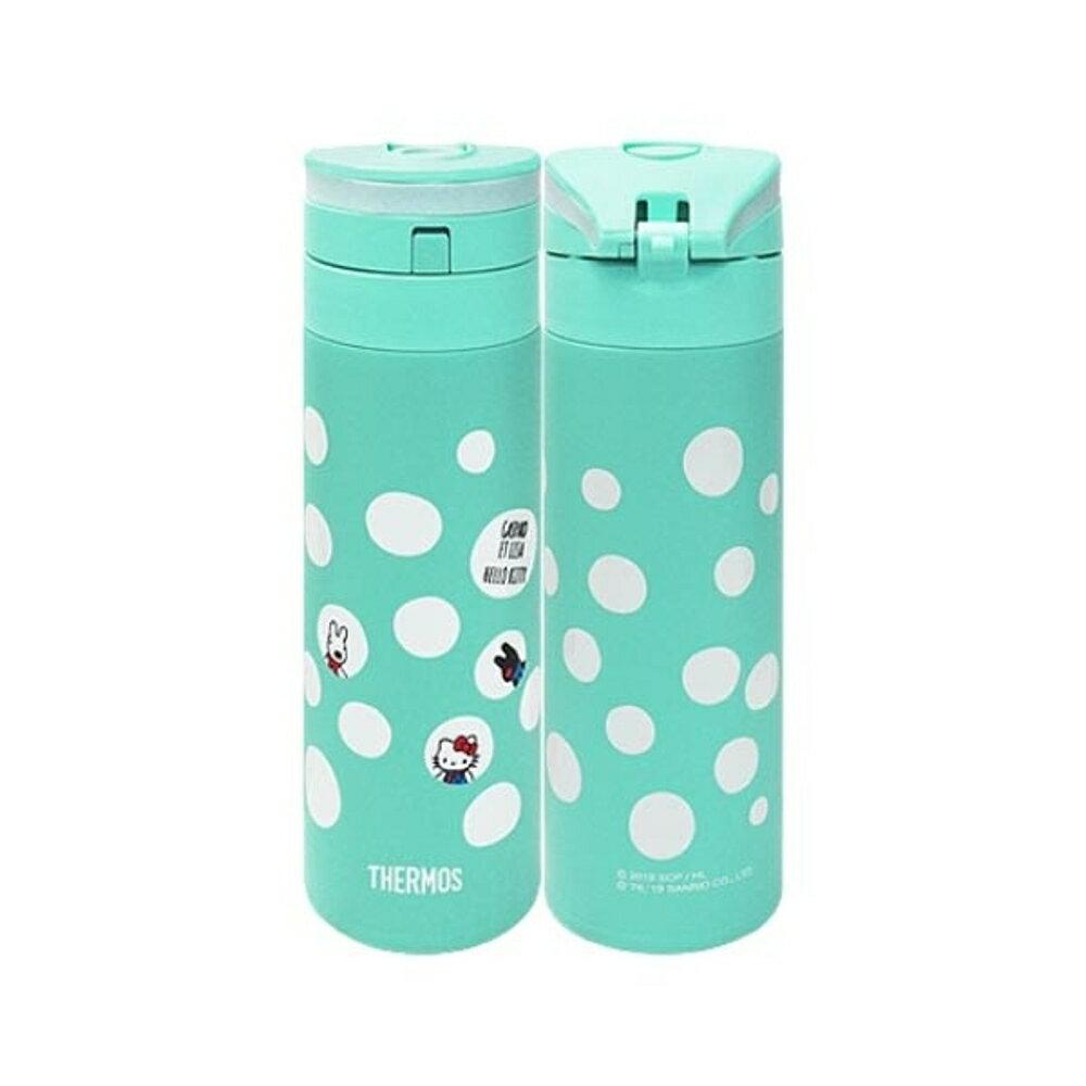 Thermos 膳魔師 不鏽鋼真空保溫瓶(Kitty與麗莎與卡斯柏)350ml【小三美日】◢D241334