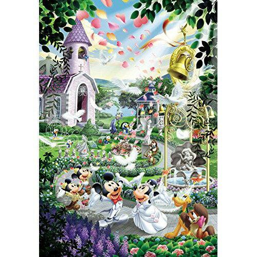 【預購】日本進口正版 迪斯尼 1000片 在結婚的鐘聲上 Wedding (51x73.5cm) 拼圖【星野日本玩具】