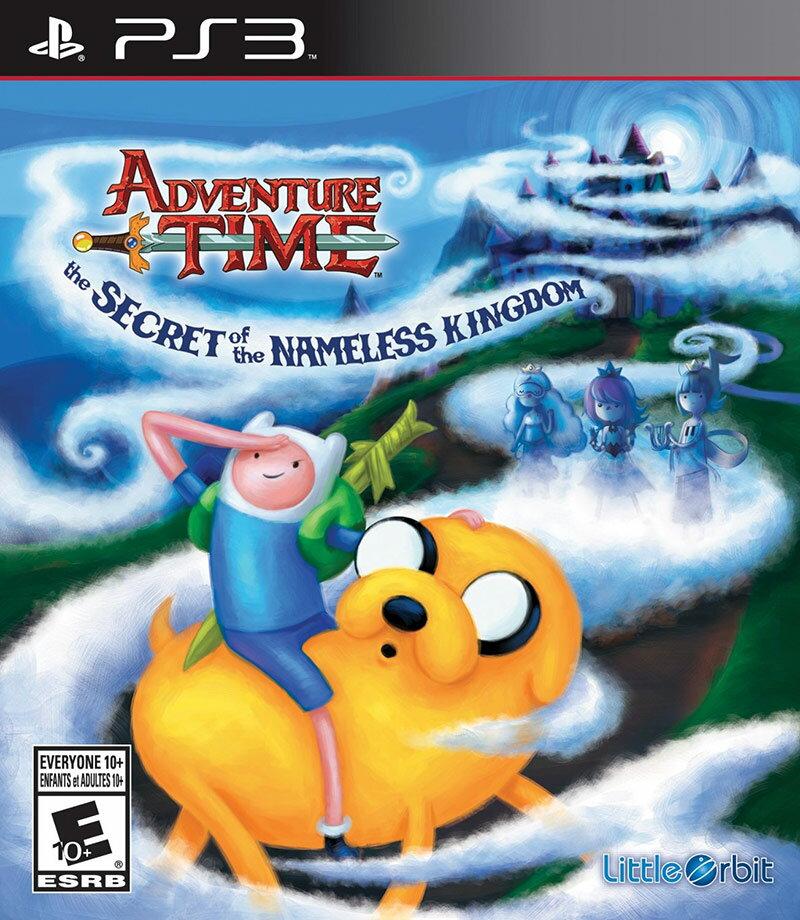 PS3 探險活寶:無名王國的秘密(老皮與阿寶) -英文美版- Adventure Time: The secret of the nameless kingdom