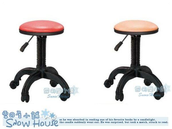 ╭☆雪之屋居家生活館☆╯R948-11/12/13/14/15 小可愛吧檯椅(氣壓升降/PP四爪輪腳)/櫃台椅/造型椅