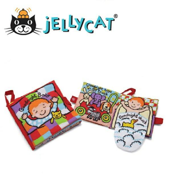 ★啦啦看世界★ Jellycat 英國玩具 / 晚安! 小寶貝 感官刺激布書 彌月禮 出生禮 月子 共讀 嬰兒 寶寶 閱讀 出生