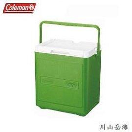 [Coleman]17L置物型冰桶綠色可重疊堆高放置保冷箱冰箱冰筒公司貨CM-1323