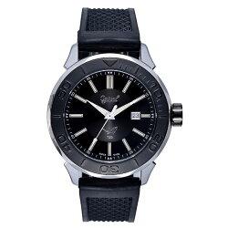 愛其華 Ogival (8005TGSB)夜鷹飛梭系列氚氣燈管時尚機械腕錶/45mm