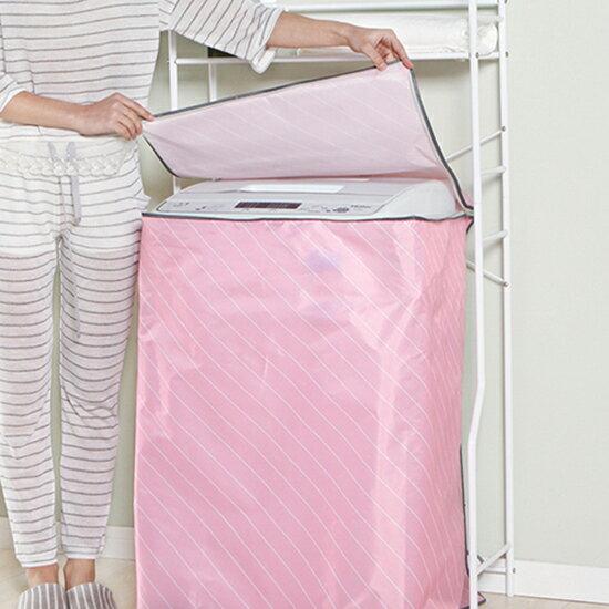 ♚MYCOLOR♚斜紋洗衣機防塵罩(單筒波輪型)防塵防潮套罩防曬老化耐用牛津布防塵套【N330】