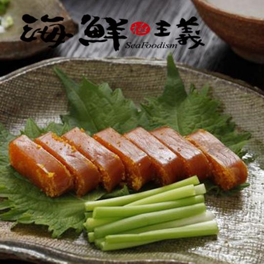 嚐鮮價~海鮮主義~烏魚子一口吃(厚片 40克 7入)~2016台北國際食品展 伴手禮~節日