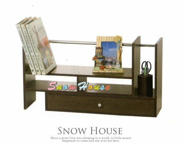 ╭☆雪之屋居家生活館☆╯AA560-04 朗基羅伸縮書架(胡桃色)/置物櫃/置物架/造型櫃/收納櫃/DIY自組