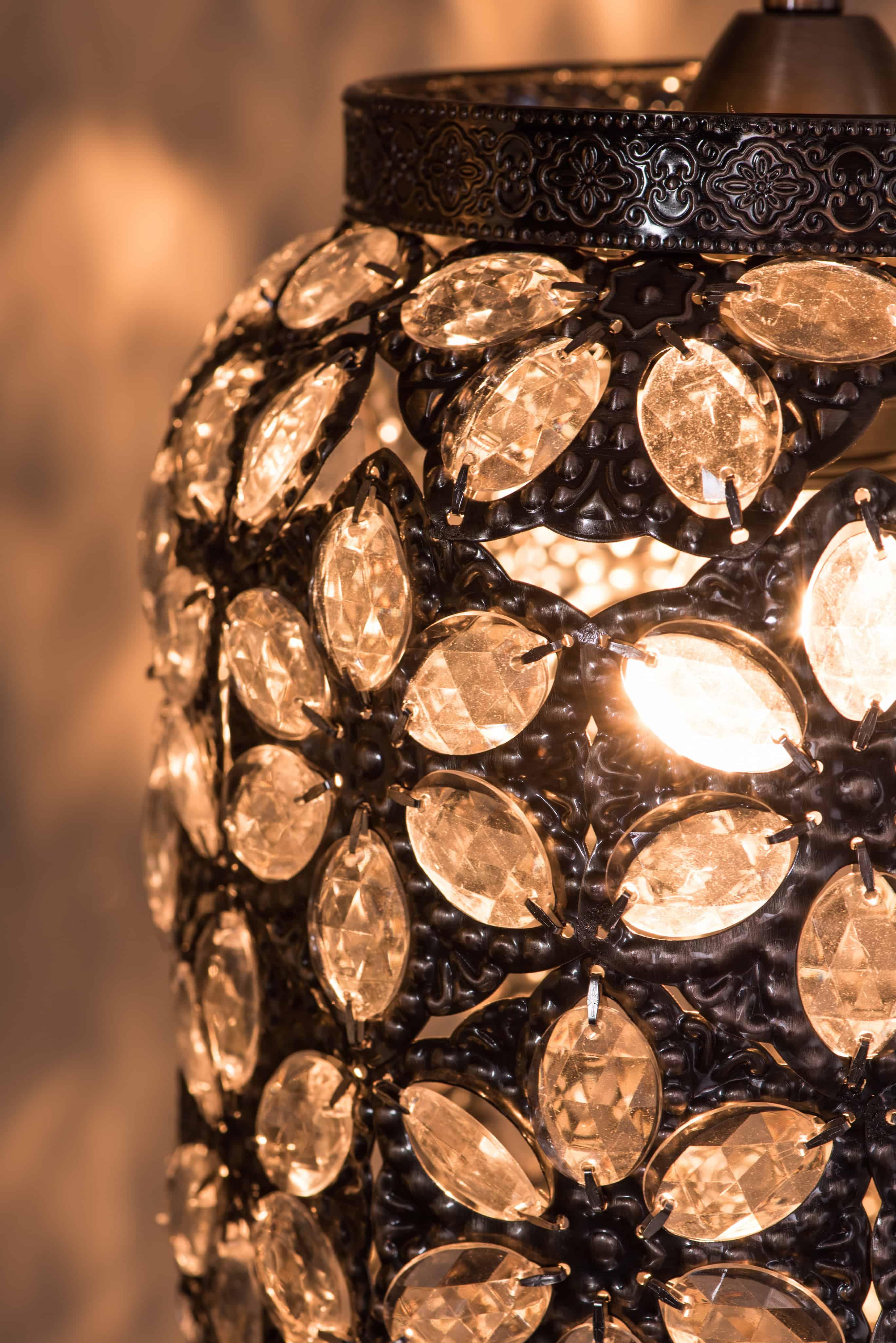 青古銅花瓣紋吊燈-BNL00071 5