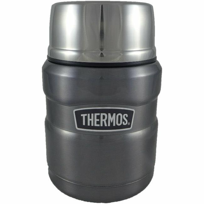 【THERMOS 膳魔師】不鏽鋼真空保溫罐/悶燒罐 PA-3000 (銀色)