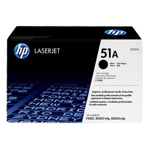 HP Q7551A 原廠黑色碳粉匣 適用 LJ P3005/M3035mfp