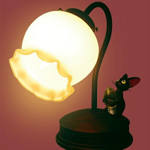 【真愛日本】15090400072 黑貓檯燈-花朵 魔女宅急便 黑貓 奇奇貓 葉燈 造型檯燈 正品 預購+現貨