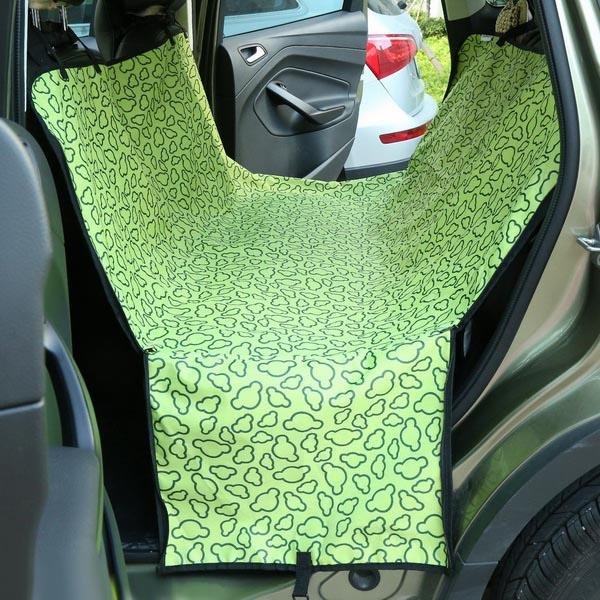 Waterproof Oxford Fabric Car Pet Seat Cover with Carry Bag 4