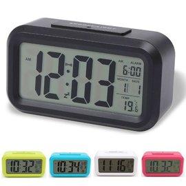 熱銷LED聰明鬧鐘 創意超大數字顯示 智能鬧鐘夜光帶溫度聰明時鐘
