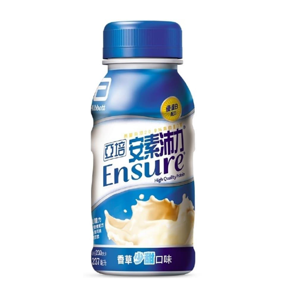 亞培 安素沛力 優蛋白配方 香草少甜 237ml*24罐/箱◆德瑞健康家◆