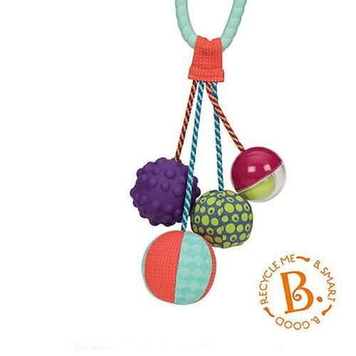 《 美國 B.toys 感統玩具 》湯圓舞索球