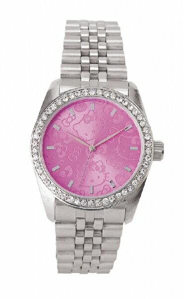 X射線【C437350】HelloKitty 美國版手錶-臉,時鐘/掛鐘/壁鐘/座鐘/鬧鐘/鐘錶/手錶/潛水錶