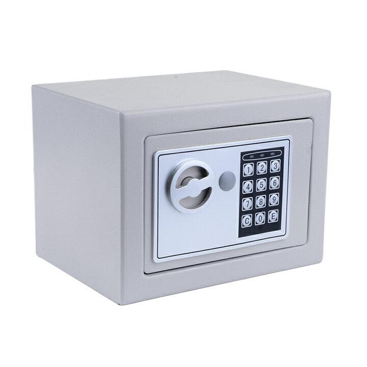 "9"" Digital Safe Box Electronic Security Wall Jewelry Cash Storage 2"