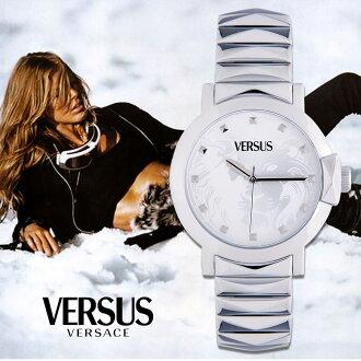 【嚴購網】Versus極簡約不鏽鋼中性腕錶(SGP020013)