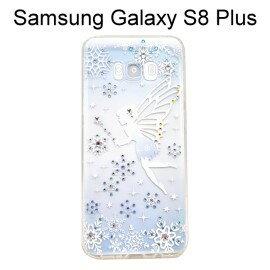 施華洛世奇空壓氣墊軟殼(多鑽款)[雪精靈]SamsungGalaxyS8PlusG955FD(6.2吋)
