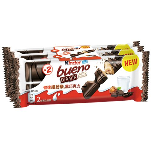 健達繽紛樂黑巧克力129g【愛買】