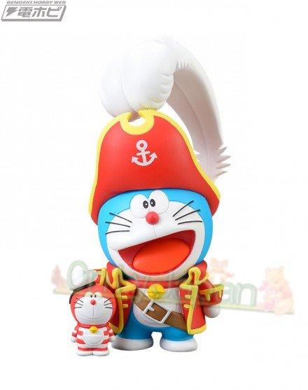 日本景品 擺飾公仔 小叮噹 哆啦A夢 船長 造型公仔 公仔 模型 擺飾 收藏 SEGA 真愛日本