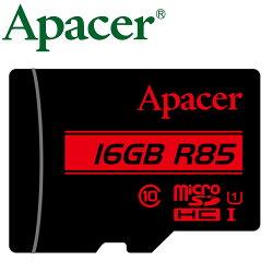 Apacer 宇瞻 16GB 85MB/s microSD microSDHC TF U1 C10 記憶卡