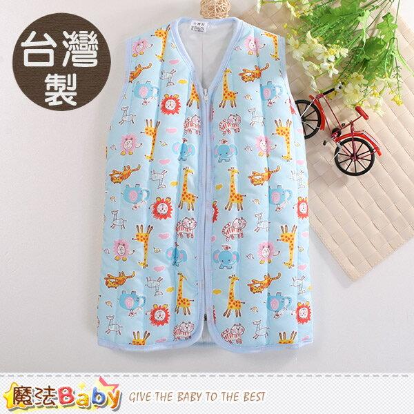 嬰幼兒睡袍 台灣製厚鋪棉保暖背心睡袍 魔法Baby~k60425
