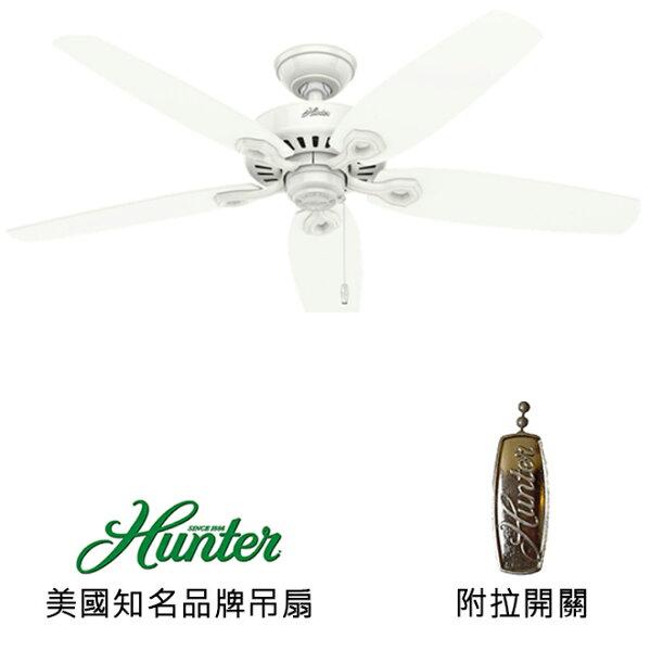 美國知名品牌吊扇專賣店:[topfan]HunterBuilderEliteDamp52英吋吊扇(53293)白色