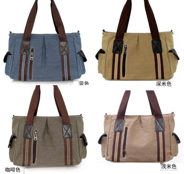 來福,H217大包包簡約大容量水洗帆布包通勤包單肩背包斜背包手提包,售價588元