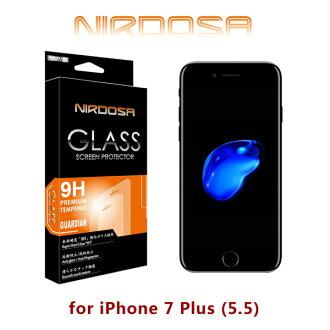 【愛瘋潮】NIRDOSA iPhone 7 Plus 9H 0.15mm 鋼化玻璃 螢幕保護貼(非滿版)