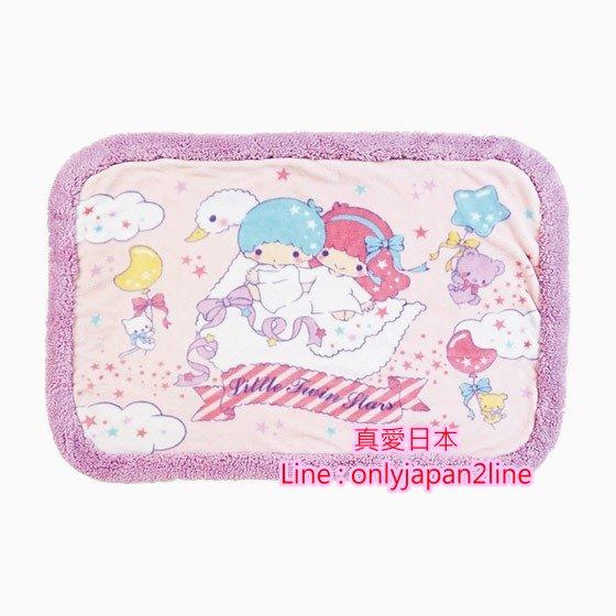 【真愛日本】16102100063 滾邊毛毯-TS騎天鵝 三麗鷗家族 Kikilala 雙子星  毯子 毛毯