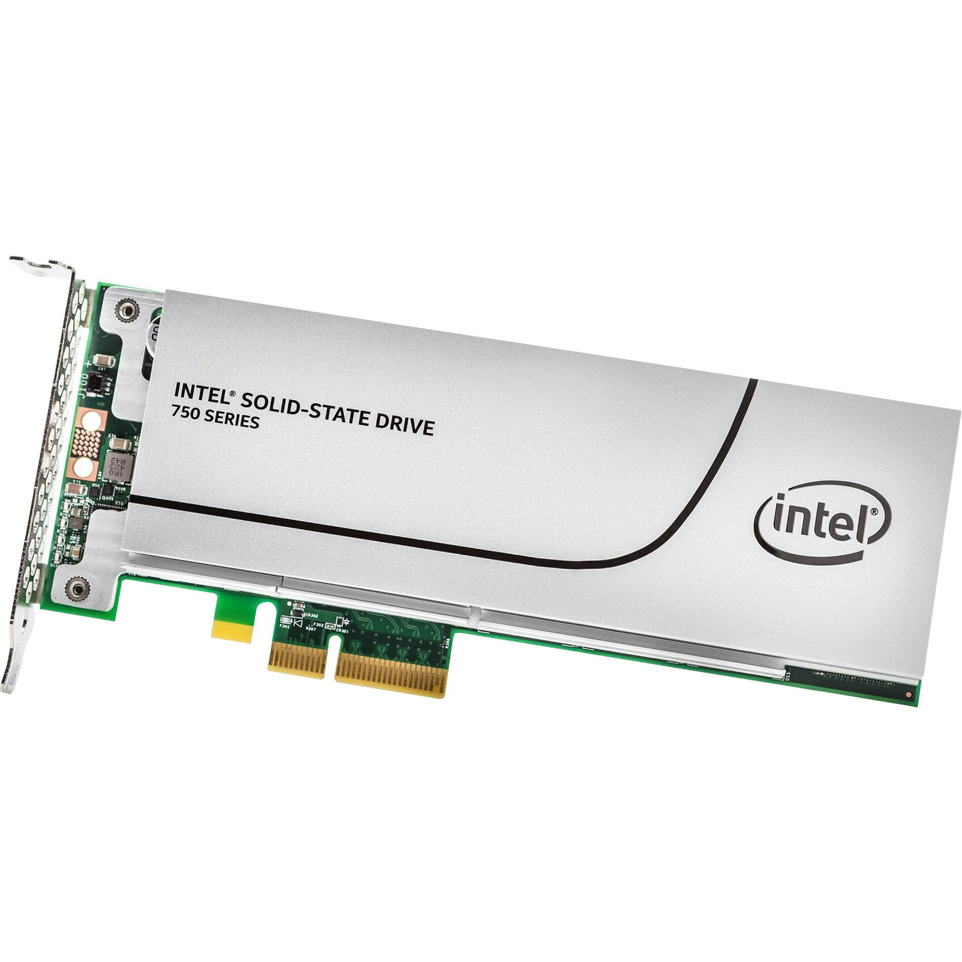 Intel SSD 750 Series 800GB AIC 800G PCIe Gen3 x4 PCI-Express 3.0 x4 MLC HHHL (CEM2.0) Internal Solid State Drive SSDPEDMW800G4X1 0