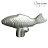 【限時下殺】Staub 鑄鐵鍋動物造型把手 鍋蓋頭 (魚) - 限時優惠好康折扣
