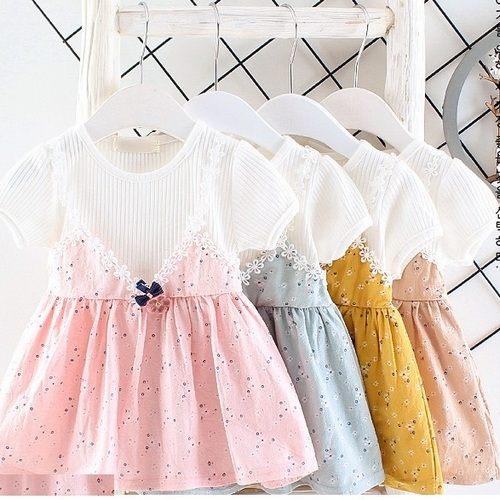 短袖洋裝吊帶身裙洋裝寶寶童裝UG30902好娃娃