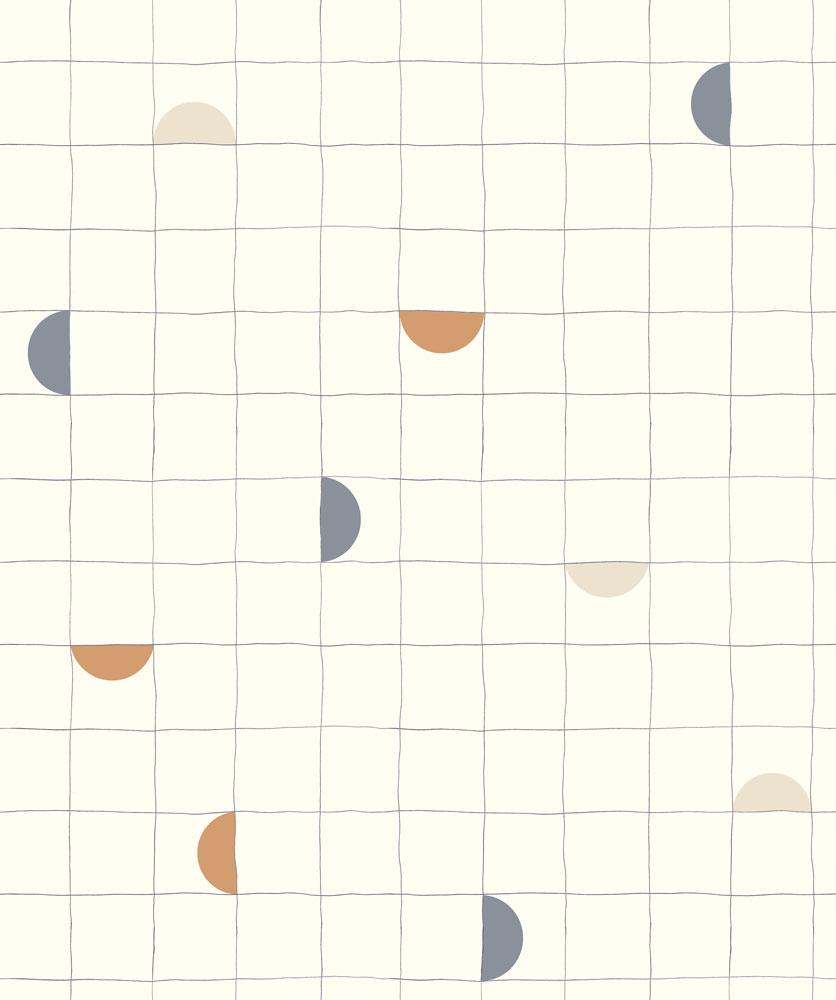 法國壁紙 格子紋圖案  2色可選  Season Paper x Heju合作壁紙 0