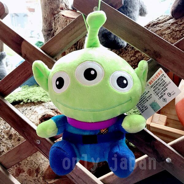 【真愛日本】18091700008坐姿Q吊娃6吋-經典三眼怪迪士尼三眼怪玩具總動員toysq版娃娃布偶禮物收藏
