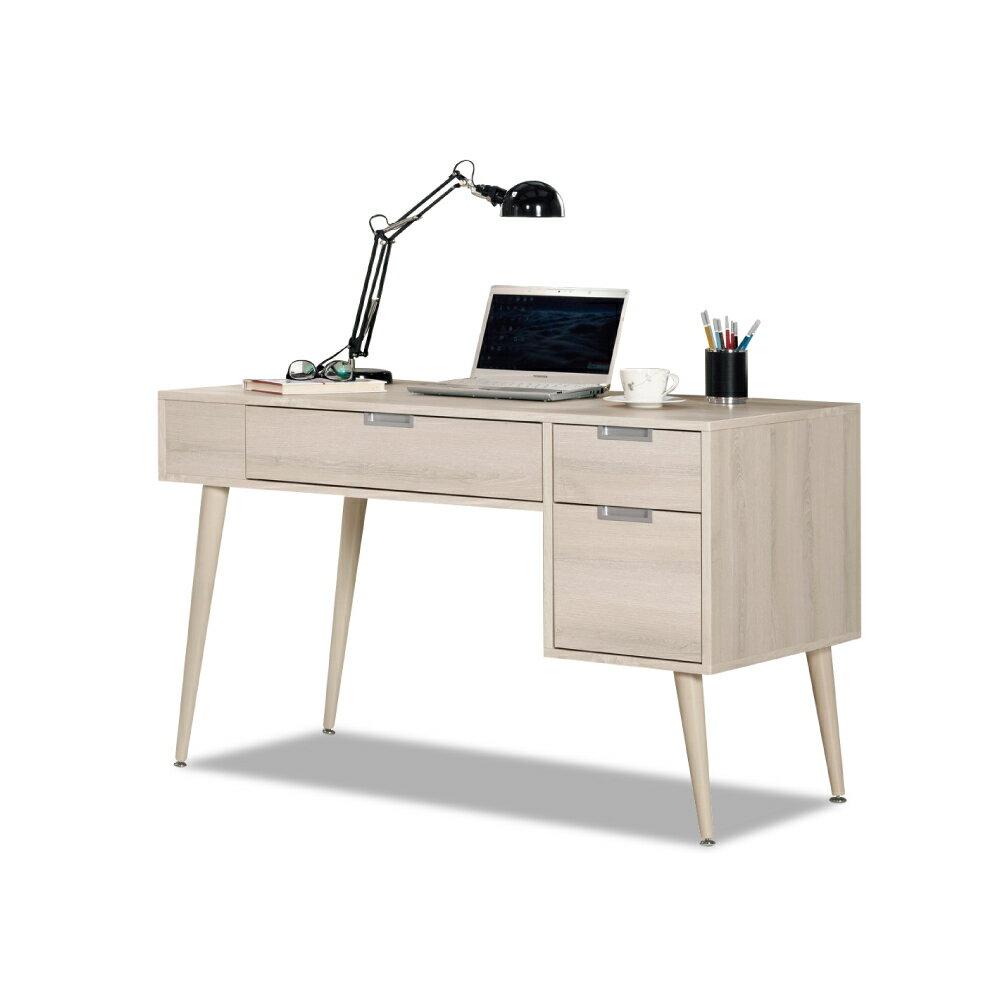 愛莎4尺書桌(寬120x深60x高78cm)/ASSARI