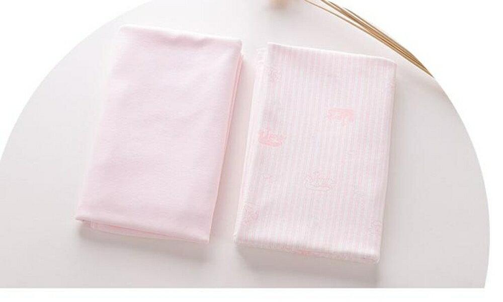 嬰兒抱被 童泰新生兒抱巾2條裝襁褓包巾寶寶抱被嬰兒純棉包被春夏秋抱單 曼慕衣櫃