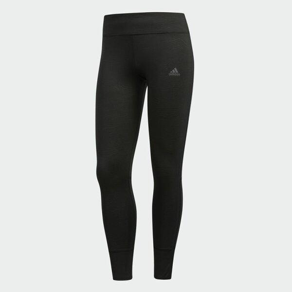 ADIDASRESPONSETIGHTS女裝長褲緊身健身訓練透氣黑【運動世界】DN2507