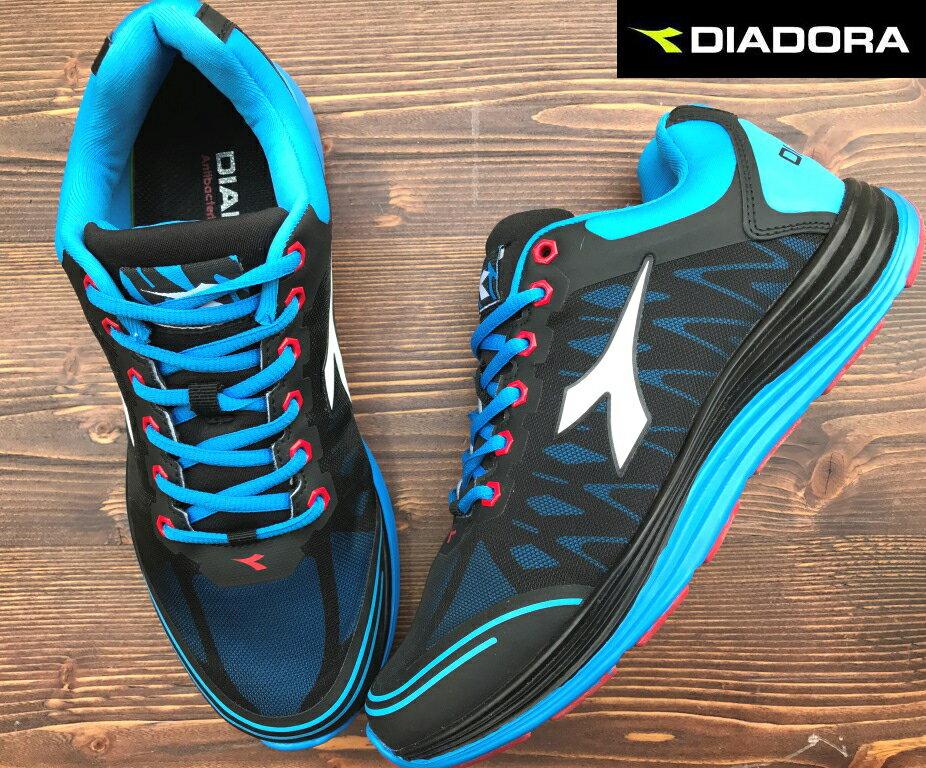 【剪標品出清-26號】義大利國寶鞋-DIADORA迪亞多納 男款TPU寬楦輕量運動慢跑鞋