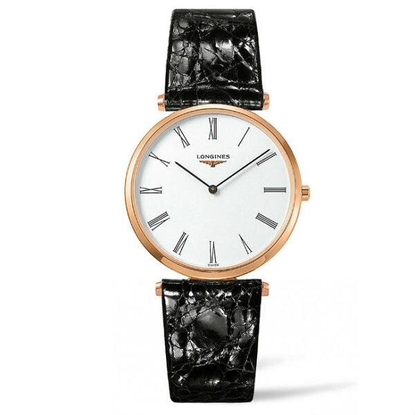 LONGINES浪琴錶L47551912嘉嵐石英超薄優雅腕錶白面36mm