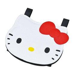 【真愛日本】17012000012 KT遮陽板置物袋-大臉紅結 三麗鷗 Hello Kitty 凱蒂貓 收納袋 車用