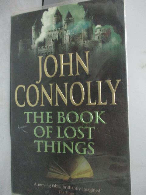 ~書寶 書T1/原文小說_HOJ~The Book of Lost Things_ Joh