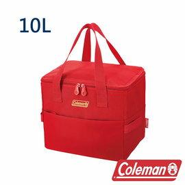 Coleman 保冷袋10L-莓果紅 CM-27229 露營│登山│行動冰箱│保冰袋│野餐│?