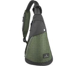 Victorinox 瑞士維氏 Altmont 3.0  水滴型單肩側背包 TRGE-601439  (黑綠)  / 個