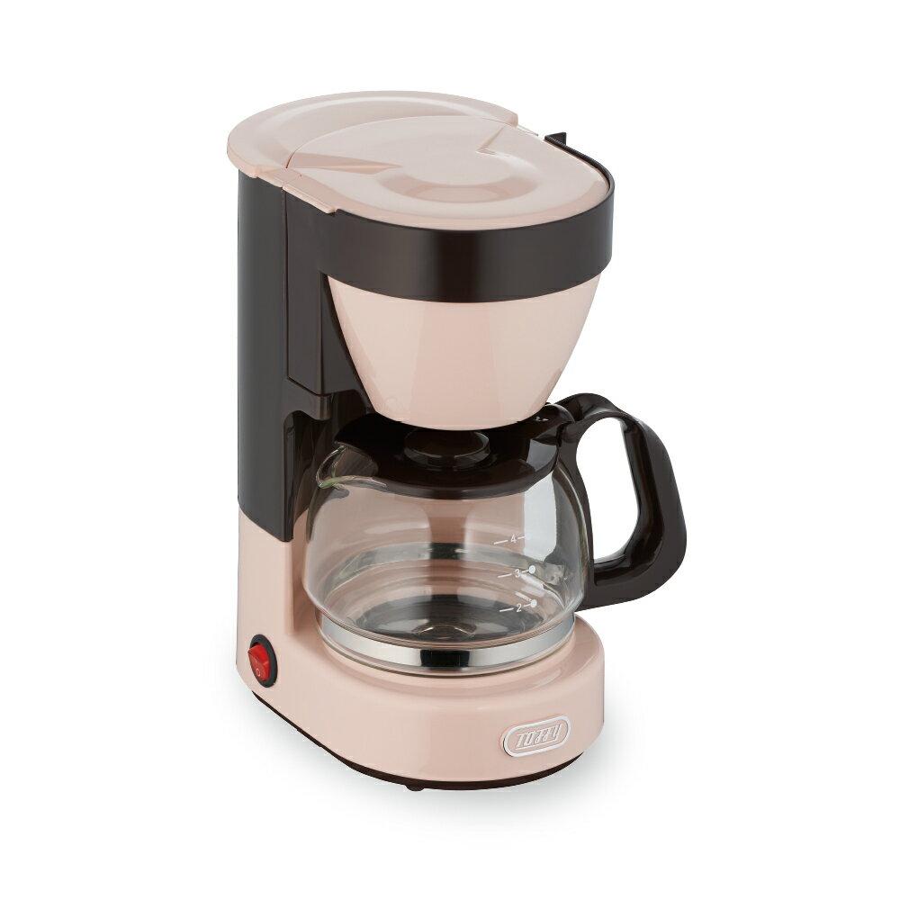 結帳價$1280 磨豆機 / 咖啡機 日本Toffy復古四杯美式咖啡機  完美主義【U0160】 2