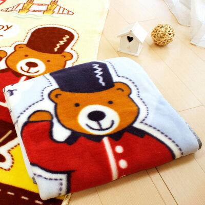 ※Tokyo 西川 倫敦熊童毯(藍)