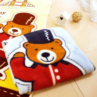 Tokyo 西川 倫敦熊童毯(藍)