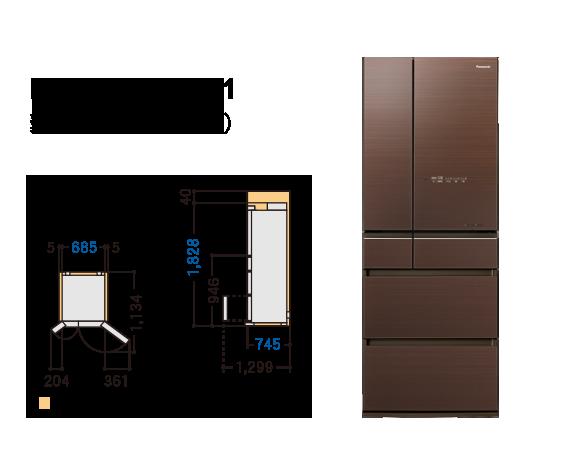 (靜態陳列出清)Panasonic 國際牌 NR-F603HX 六門 冰箱 600公升 無邊框 電冰箱  公司貨 冰箱 NR-F603HX-T1 樂天夏特賣冰箱 - 限時優惠好康折扣
