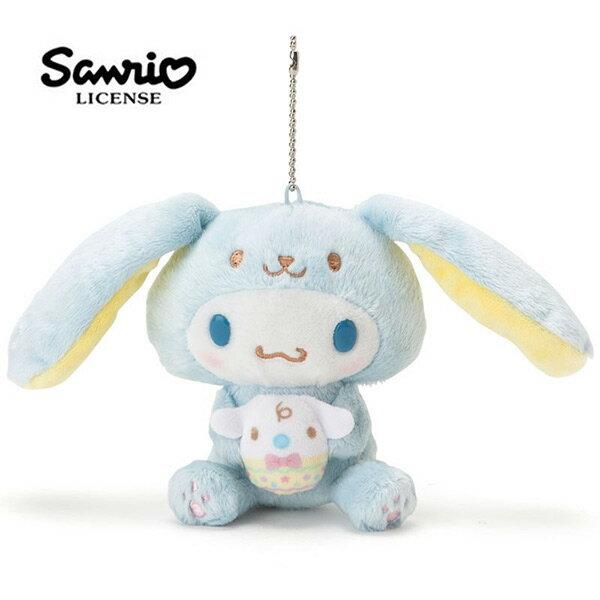 【日本正版】大耳狗復活節彩蛋玩偶娃娃吊飾喜拿Cinnamoroll三麗鷗Sanrio-377420