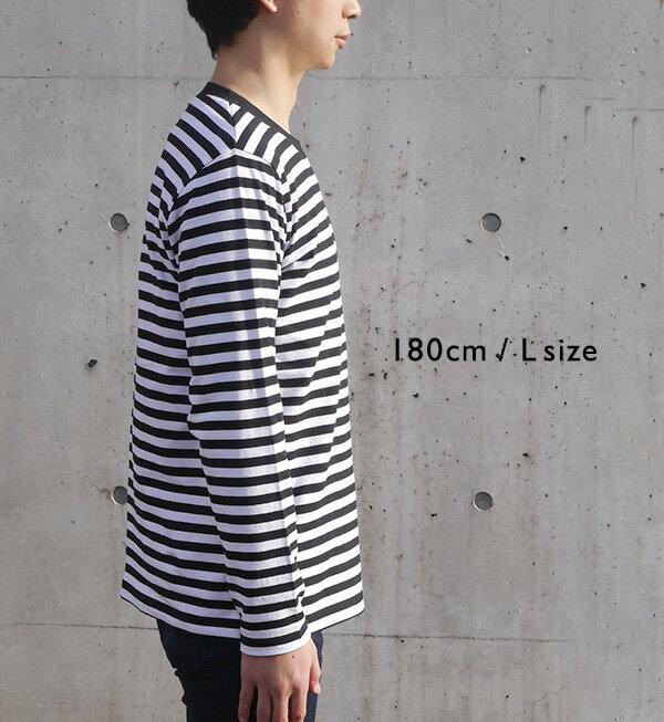 日本e-zakka / 簡約條紋長袖T恤 / 32560-1801340  / 日本必買 代購 / 日本樂天直送(2300) 6